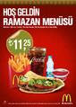 Hoşgeldin Ramazan Menüsü Sayfa 1