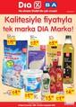 DIA Marka Ürünler Broşürü Sayfa 1