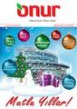 Onur Market 20 Aralık- 2 Ocak Broşürü Sayfa 1