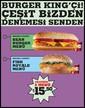 Burger Kingçi Çeşit Bizden Denemesi Sizden! Sayfa 1