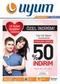 Uyum Market 5-25 Şubat İndirim Broşürü Sayfa 1