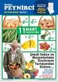 Meşhur Peynirci 11-17 Mart Broşürü Sayfa 1
