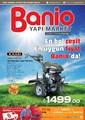 Banio Yapı Market 15 Mart- 15 Nisan Özel Sayı Broşürü Sayfa 1