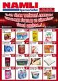 Namlı Hipermarketleri 11-25 Nisan İndirim Broşürü Sayfa 1