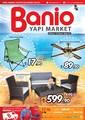 Banio Yapı Market 4-31 Mayıs Kampanya Broşürü Sayfa 1