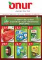 Onur Market 09-14 Mayıs İndirim Broşürü Sayfa 1 Önizlemesi