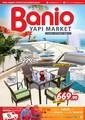 Banio Yapı Market 1-30 Haziran Broşürü Sayfa 1