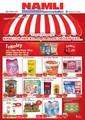 Namlı Hipermarketleri 11-23 Haziran İndirim Broşürü Sayfa 1