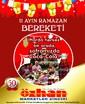 Özhan Market 03-14 Temmuz İndirim Broşürü Sayfa 1