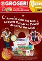 Groseri Market 1-31 Temmuz Broşürü Sayfa 1