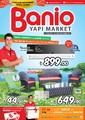 Banio Yapı Market Ağustos Kataloğu Sayfa 1