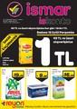 İsmar Süpermarket 12-25 Eylül Broşürü Sayfa 1
