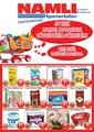 Namlı Hipermarket 12-26 Eylül Broşürü Sayfa 1