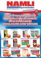 Namlı Hipermarket 11-25 Kasım Broşürü Sayfa 1