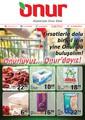 Onur Market 9-15 Ocak 2014 İndirim Broşürü Sayfa 1