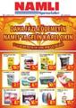 Namlı Hipermarketleri 17-31 Ocak 2014 İndirim Broşürü Sayfa 1