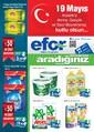 Efor Market 8-21 Mayıs Kampanya Broşürü Sayfa 1