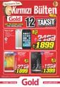 Gold Bilgisayar Kırmızı Bülten 11 - 14 Temmuz 2014 Broşürü Sayfa 1