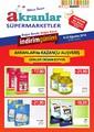 Akranlar Süpermarket 9-23 Ağustos Kampanya Broşürü Sayfa 1 Önizlemesi