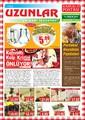 Uzunlar Peynir Aralık 2014 Kampanya Broşürü Sayfa 1