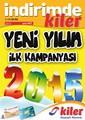 Kiler 1-14 Ocak 2015 Kampanya Broşürü: Yeni Yılın İlk Kampanyası Sayfa 1
