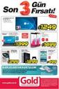 Gold Bilgisayar 29 - 31 Mayıs 2015 Kampanya Broşürü Sayfa 1