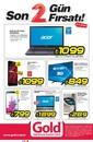 Gold Bilgisayar Kırmızı Bülten 30 - 31 Temmuz 2015 Kampanya Broşürü Sayfa 1