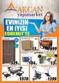 Akcan Yapı Market 29 Temmuz - 29 Ağustos Kampanya Broşürü Sayfa 1