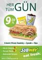 Subway Her Gün Tüm Gün Sayfa 1