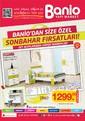 Banio 01 - 31 Ekim 2015 Kampanya Broşürü Sayfa 1