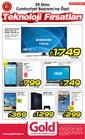 Gold Bilgisayar 29 Ekim - 01 Kasım 2015 Kampanya Broşürü Sayfa 1