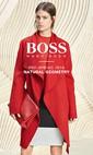 """Hugo Boss Kadın İlkbahar Öncesi 2016 """"Natural Geometry"""" Lookbook Sayfa 1"""