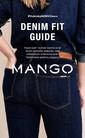 "Mango Violeta 2016 ""Denim Fit Guide"" Loobook Sayfa 1"