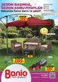 Banio 01 - 30 Nisan 2016 Kampanya Broşürü Sayfa 1