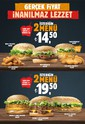 Burger King' den Gerçek Fiyat İnanılmaz Lezzet Sayfa 1 Önizlemesi