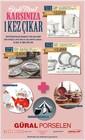 Güral Porselen 2016 Fırsat Broşürü Sayfa 1