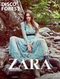 """Zara Kadın Sonbahar Kış 2016 """"Disco Forest"""" Lookbook Sayfa 1"""