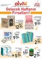 Alvi Market 28 Nisan - 4 Mayıs 2017 Hafta Sonu Kampanya Broşürü Sayfa 1
