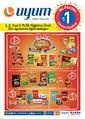 Uyum Market Ne alırsan 1 TL Günleri Başladı 20 Nisan - 7 Mayıs Kampanya Broşürü Sayfa 1