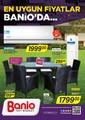 Banio 1-31 Temmuz 2017 Kampanya Broşürü Sayfa 1