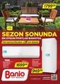 Banio Ağustos 2017 Kampanya Broşürü Sayfa 1