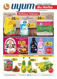 Uyum Market 29 Eylül - 6 Ekim 2017 Kampanya Broşürü: Bu Hafta Sayfa 1