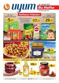 Uyum Market 22-29 Eylül 2017 Kampanya Broşürü: Bu Hafta Sayfa 1
