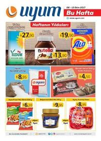 Uyum Market 6 - 13 Ekim 2017 Kampanya Broşürü: Bu Hafta Sayfa 1 Önizlemesi