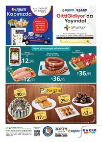 Uyum Market 20-27 Ekim 2017 Kampanya Broşürü: Bu Hafta Sayfa 4 Önizlemesi