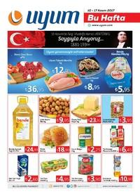 Uyum Market 10-17 Kasım 2017 Kampanya Broşürü: Bu Hafta Sayfa 1