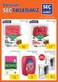 Seç Market 15-21 Kasım 2017 Kampanya Broşürü Sayfa 1