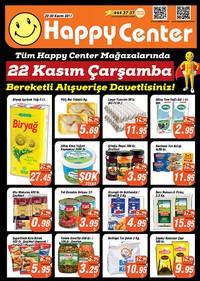 Happy Center 22 - 30 Kasım 2017 Kampanya Broşürü! Sayfa 1