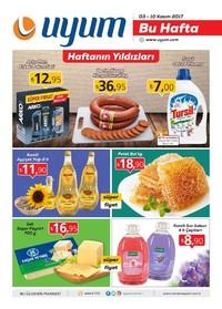 Uyum Market 3-10 Kasım 2017 Kampanya Broşürü: Bu Hafta Sayfa 1