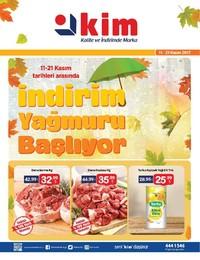 Kim Market 11-21 Kasım 2017 Kampanya Broşürü! Sayfa 1 Önizlemesi